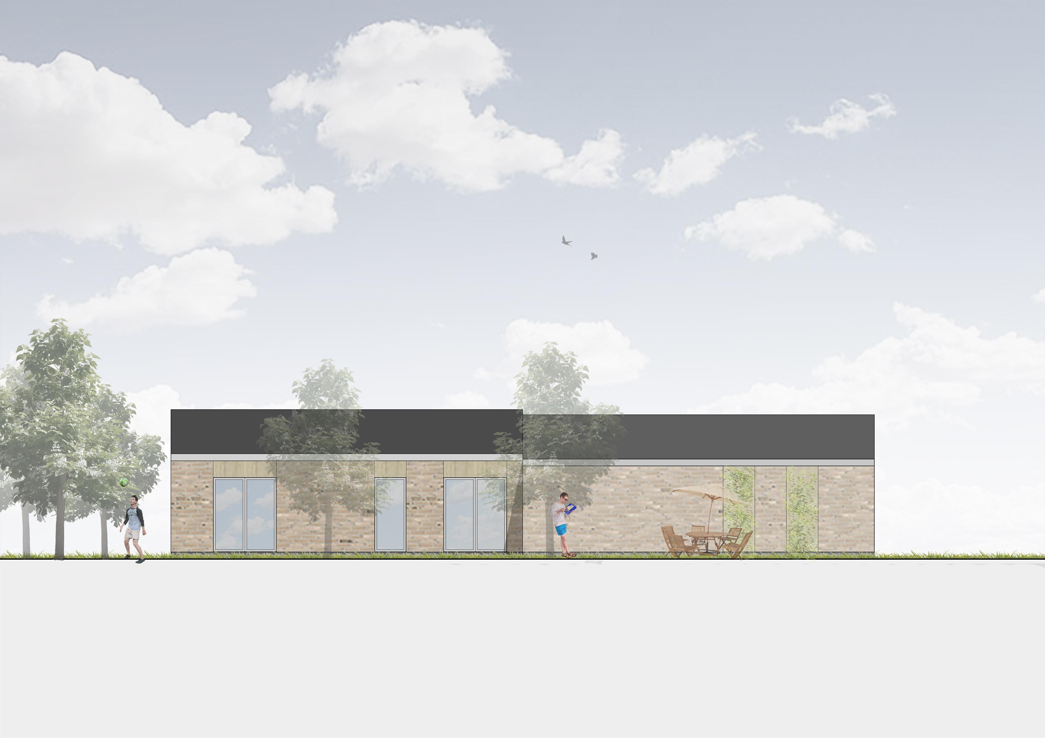 Nord-facade